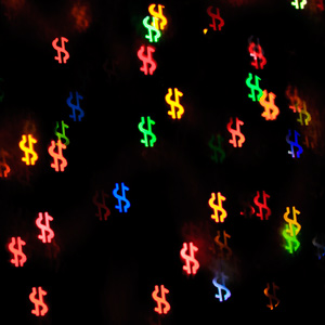 Money Bokeh