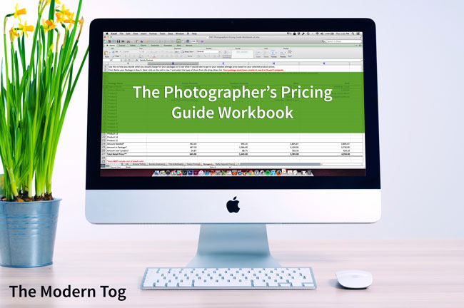 Photographer's Pricing Guide Workbook