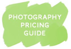 awesome free photography pricing guide