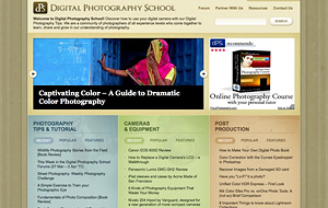 digital photography school website screen shot