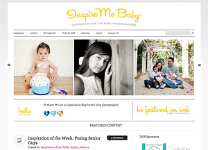 Inspire Me Baby Website Screen Shot