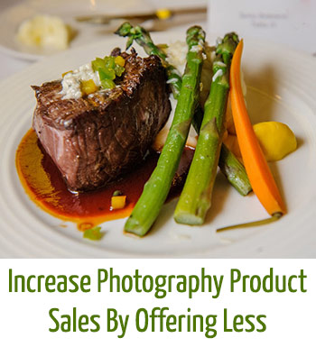 increase photography product sales