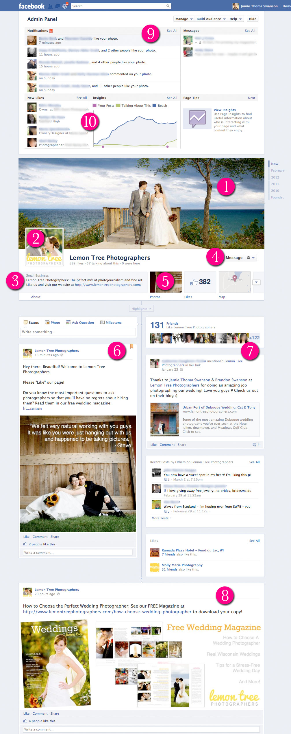 Everything You Need to Know About Timeline for Facebook Pages Facebook Page Timeline Example