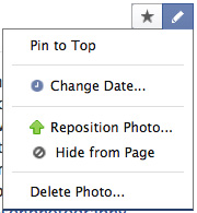 facebook edit post options