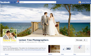 facebook timeline business pages