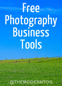 Free Photography Business Tools