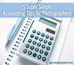 Accounting Tips for Photographers