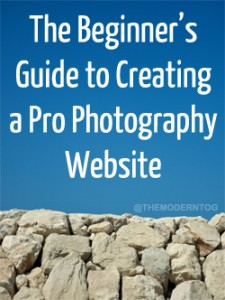 Beginners Guide to Creating a Pro Photography Website