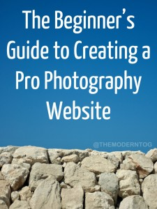 The Beginner's Guide to Creating a Pro Photography Website