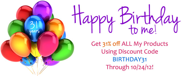 The Modern Tog Birthday Celebration Sale