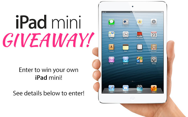 Free iPad mini Giveaway on Black Friday