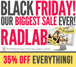 Totally Rad Actions Black Friday Sale 2012