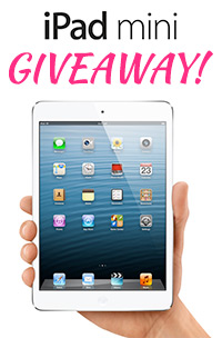 iPad mini Giveaway 2012