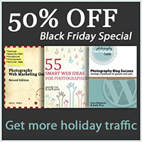 Photography Web Marketing Black Friday Sale