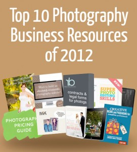 Top 10 Photography Business Resources of 2012