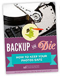 how to back up photos
