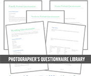 photography questionnaires