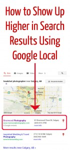 Show Up Higher In Search Results Using Google Local