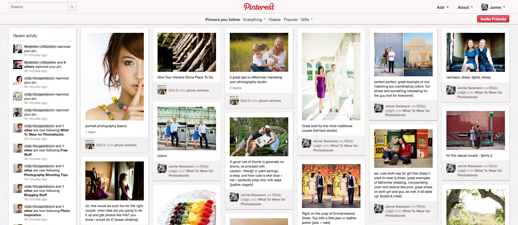 Http Www Themoderntog Com Ultimate Pinterest Guide For Photographers