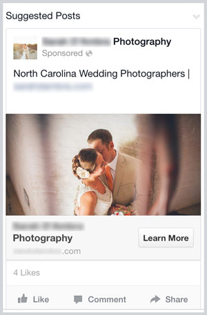 a Facebook ad that was too broad in its reach