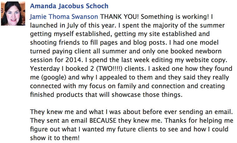 Amanda Schoch Got 2 New Clients