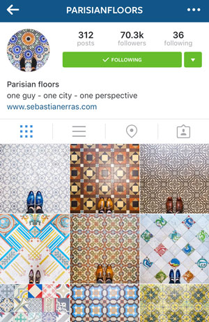 floors in paris instagram account